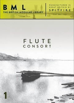 BML Flute Consort Volume 1 Front Cover