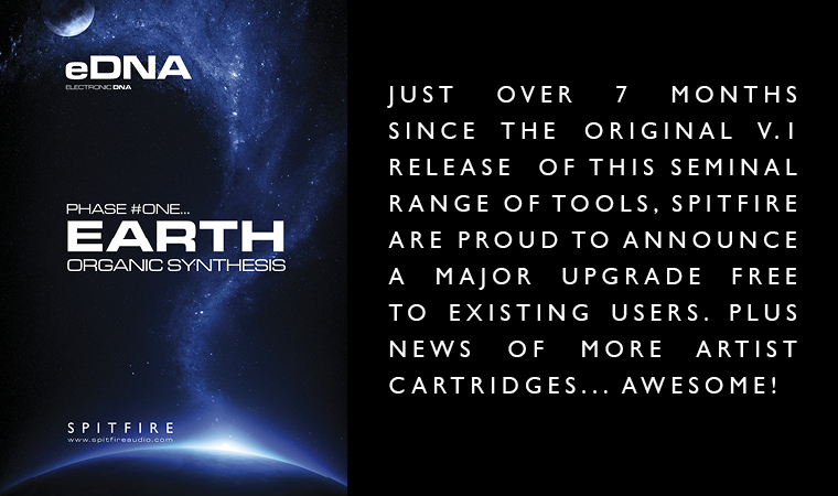 SPITFIRE - EARTH v1 1 Released + NEW CARTRIDGE by THE UNFINISHED